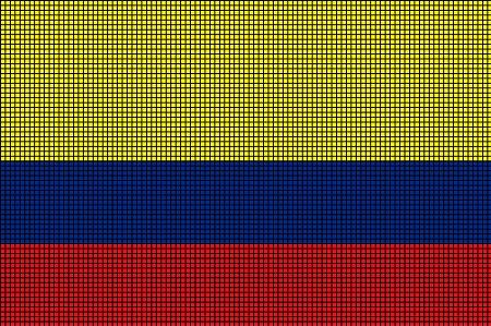 Colombia Flag Crochet Pattern