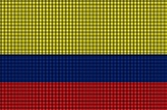 Colombia Flag Crochet Pattern