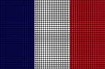 France Flag Crochet Pattern