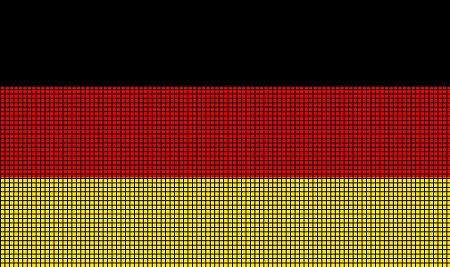 Germany Flag Crochet Pattern