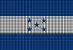 Honduras Flag Crochet Pattern