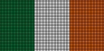 Ireland Flag Crochet Pattern