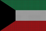 Kuwait Flag Crochet Pattern
