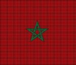 Morocco Flag Crochet Pattern