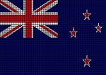 New Zealand Flag Crochet Pattern