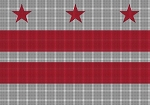 District of Columbia Flag Crochet Pattern
