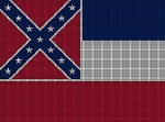 Mississippi State Flag Crochet Pattern