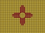 New Mexico State Flag Crochet Pattern