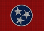 Tennessee State Flag Crochet Pattern