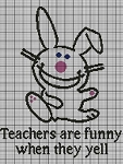 Teachers Are Funny Crochet Pattern