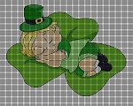 Sleeping Leprechaun Crochet Pattern