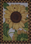 Lady Sunflower Crochet Pattern