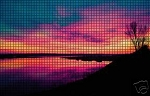 Purple Sunrise Crochet Pattern