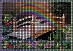 Rainbow Bridge Crochet Pattern