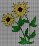 Sunflowers Crochet Pattern