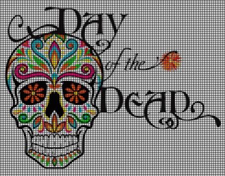 Day of the Dead Crochet Pattern