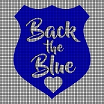 Back the Blue Crochet Pattern