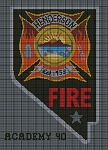 Nevada Fireman's Patch Crochet Pattern