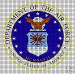 Airforce Crochet Pattern