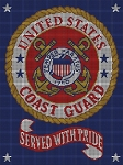 US Coast Guard - Served with Pride Crochet Pattern