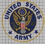 United States Army Logo Crochet Pattern