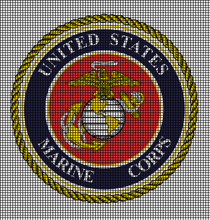 United States Marine Corps Crochet Pattern