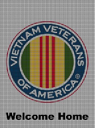 Crochet Patterns For Veterans : Vietnam Veterans of America Crochet Pattern