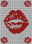 Big Kiss Crochet Pattern