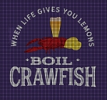 Boil Crawfish Crochet Pattern
