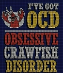 Crawfish Disorder Crochet Pattern