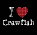 I Love Crawfish Crochet Pattern