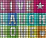 Live Laugh Love Crochet Pattern