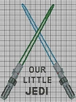 Our Little Jedi Crochet Pattern