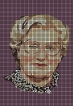 Robin Williams Mrs. Doubtfire Crochet Pattern