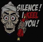 Silence I Keel You! Crochet Pattern
