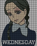 Wednesday Adams Crochet Pattern