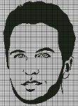 Luke Bryan Portrait Crochet Pattern
