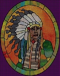Indian Chief 2 Crochet Pattern
