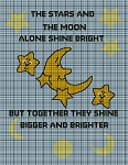 Moon and Stars Crochet Pattern