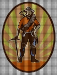 Coal Miner Picture Crochet Pattern