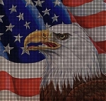 Eagle USA Crochet Pattern