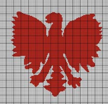 Polish Eagle Crochet Pattern
