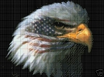 September 11th Eagle Flag Crochet Pattern