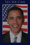Obama Yes We Can Crochet Pattern