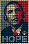 Obama Hope Crochet Pattern