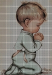 Little Boy Praying Crochet Pattern