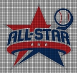 All Star Crochet Pattern