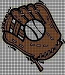 Baseball Glove Crochet Pattern