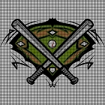 The Baseball Field Crochet Pattern