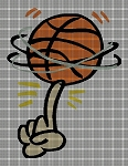 Basketball Spin Crochet Pattern